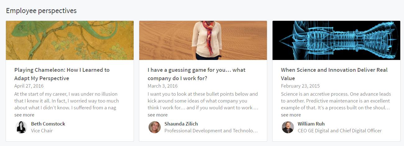 LinkedIn yrityskäytössä on myös työntekijöiden näkökulmia esille nostamista
